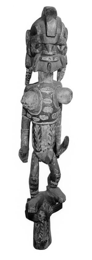 view Sacred anthropomorphic figure, New Ireland, Papua New Guinea.
