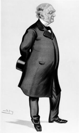 view Cartoon of Sir W. J. E. Wilson