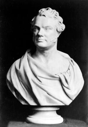 view Marble bust of Thomas Addison.
