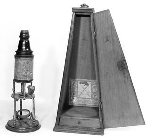 view The original Culpeper microscope.