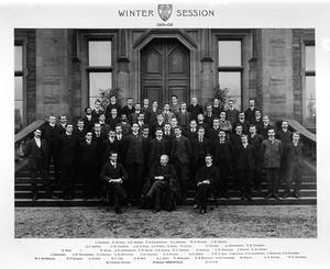 view Group portrait at Edinburgh University