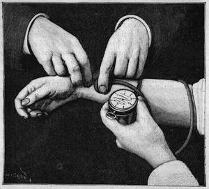 view Potain's sphygmomanometer