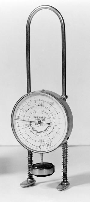 view Oliver haemodynamometer or sphygmomanometer