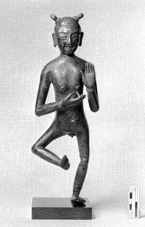 view Chinese anatomical figure of man used in acupuncture