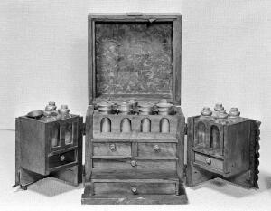 view French or Italian Medicine chest.