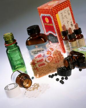 view A selection of alternative medicines