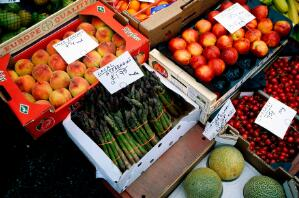view Fruit and Vegetables - Year 2000 prices
