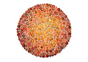 view Ishihara Colour Vision test compiled using retina