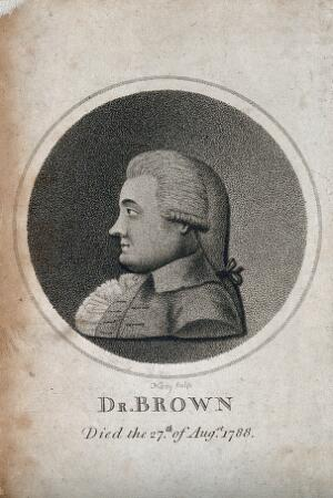 view John Brown [Bruno]. Aquatint by J. Cary.