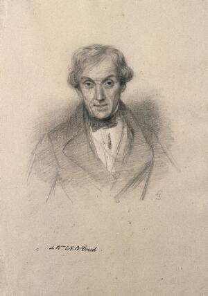view Baron E. N. B. Crud. Lithograph by Fontani after C. E. Liverati, 1841.
