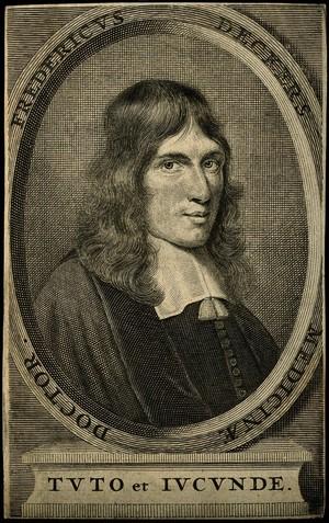 view Frederik Dekkers. Line engraving.