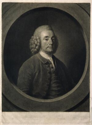 view Thomas, Baron Dimsdale. Mezzotint by T. Burke after himself.