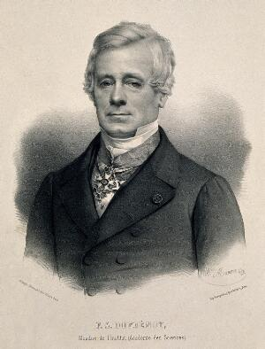 view Pierre Armand Dufrénoy. Lithograph by A. Maurin.