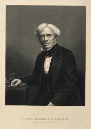 Michael Faraday. Lithograph. 1a5f7983f