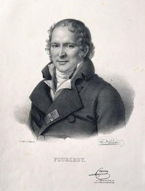 view Comte Antoine François de Fourcroy. Lithograph by Z. Belliard after A. C. G. Lemonnier, 1810.