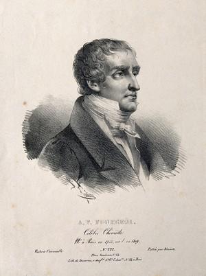 view Comte Antoine François de Fourcroy. Lithograph by B.-R. Julien, 1827.