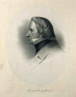 view Joseph Henry Green. Lithograph by J. H. Lynch after G. T. Teniswood.