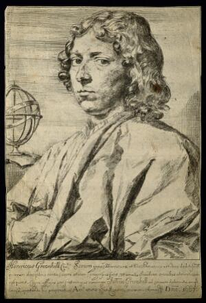view Henry Greenhill. Etching by J. Greenhill, 1667, after himself.