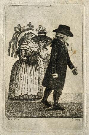 view Alexander Hamilton. Etching by J. Kay, 1786.