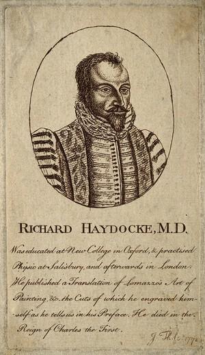 view Richard Haydock. Etching by [J. Th.], 1772.