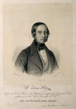 view Julius Helm. Lithograph by G. Decker after J. Forstern.