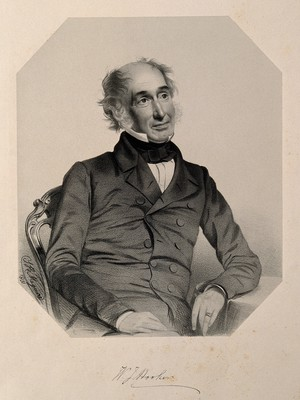 view Sir William Jackson Hooker. Lithograph by T. H. Maguire, 1851.