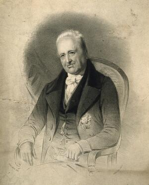 view Henry Jenner. Lithograph by M. Gauci after H. Smith.