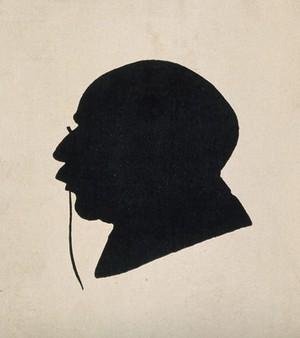 view Sir Robert Jones. Silhouette.