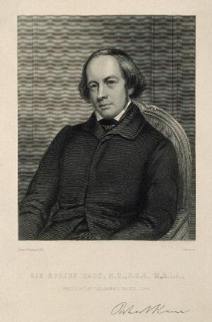 view Sir Robert John Kane. Stipple engraving by S. Freeman after G. F. Mulvany.
