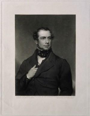 view Samuel Armstrong Lane. Mezzotint by W. Walker, 1849, after Elizabeth Walker.
