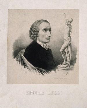 view Ercole Lelli. Lithograph by Bettini.