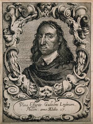 view William Leybourn. Etching, 1653.