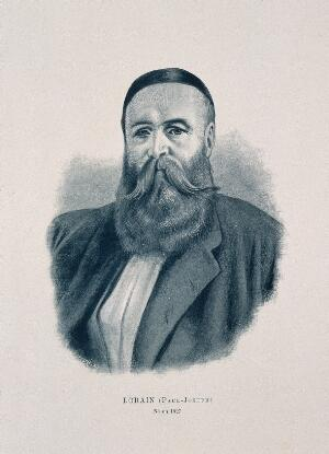 view Paul Joseph Lorain. Photogravure by Reymond, 1896.