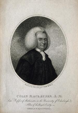 view Colin Maclaurin. Stipple engraving by S. Freeman after Percey.