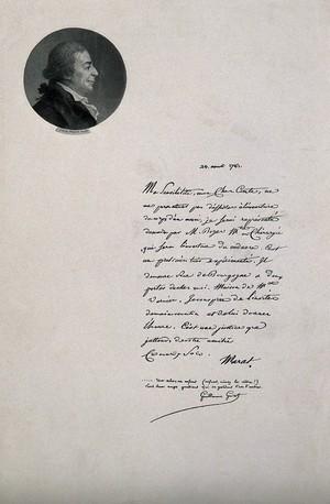 view Jean Paul Marat. Photogravure after Delaine.