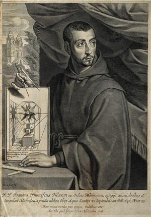view Jean-François Nicéron. Line engraving by M. Lasne, 1646.