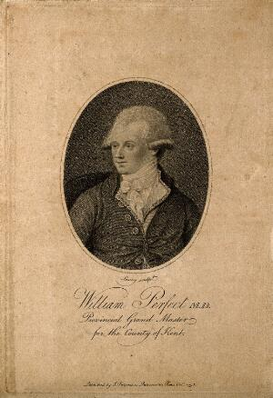 view William Perfect. Stipple engraving by W. S. Leney, 1795.