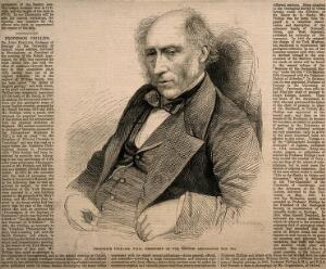 view John Phillips. Wood engraving by [J. B.], 1865, after J. Guggenheim.