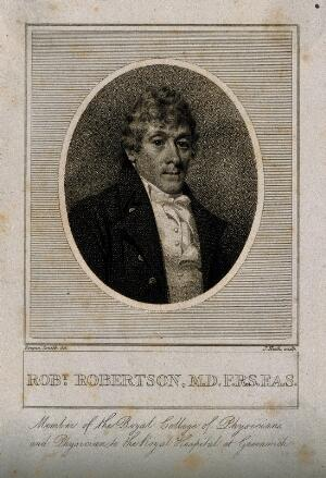 view Robert Robertson. Stipple engraving by J. Heath after Emma Smith.