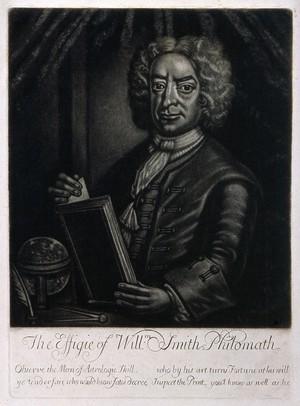 view William Smith. Mezzotint, 17--