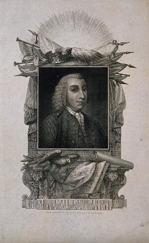 view Tobias George Smollett. Line engraving by W. & D. Lizars.