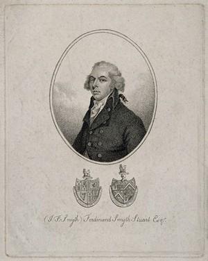 view John Ferdinand Stuart [Smyth]. Stipple engraving, 1807.
