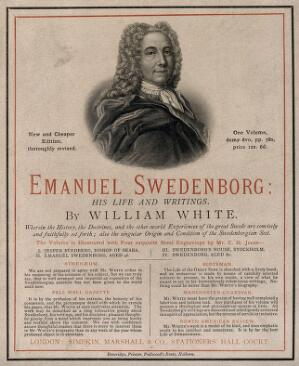 view Emanuel Swedenborg. Etching by C. H. Jeens.