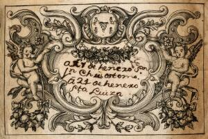 view Thomas Sydenham [apothecary's label]. Line engraving with MS notes.