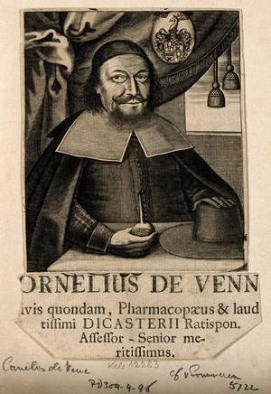 view Cornelis Vene [Venn]. Line engraving.