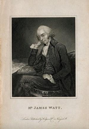view James Watt. Engraving after C. F. von Breda, 1792.