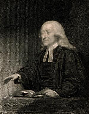view John Wesley. Engraving by J. Thomson after J. Jackson.