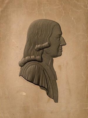 view John Wesley. Line engraving by E. Porteus, 1841.