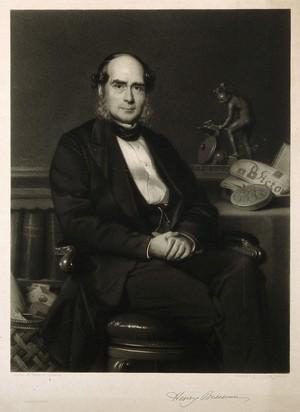 view Sir Henry Bessemer. Mezzotint by T. O. Barlow after R. Lehmann.