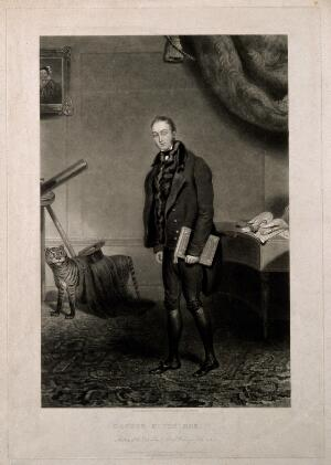 view William Kitchiner. Mezzotint by C. Turner, 1827, after himself.